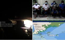 Cruise ship almost sinks in Langkawi, four crew members found safe