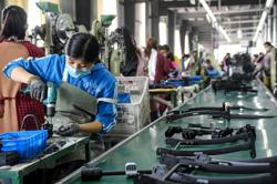 China's factory activity expands at a slower pace in February, misses expectations -official PMI