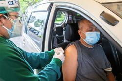 Vaccination drive on wheels