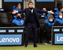 Champions League exit helped Inter's Serie A title bid, says Conte
