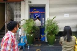 Myanmar central bank to limit cash withdrawal from banks, ATMs