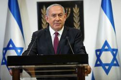 Netanyahu blames Iran for blast on Israeli-owned ship which Tehran denies