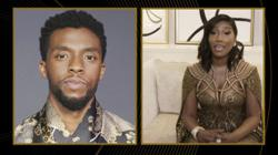 Chadwick Boseman's widow gives tear-filled speech as actor wins Golden Globes