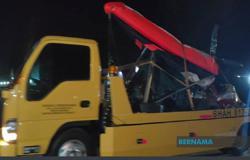 Man suffers injury in paragliding mishap in Kangar