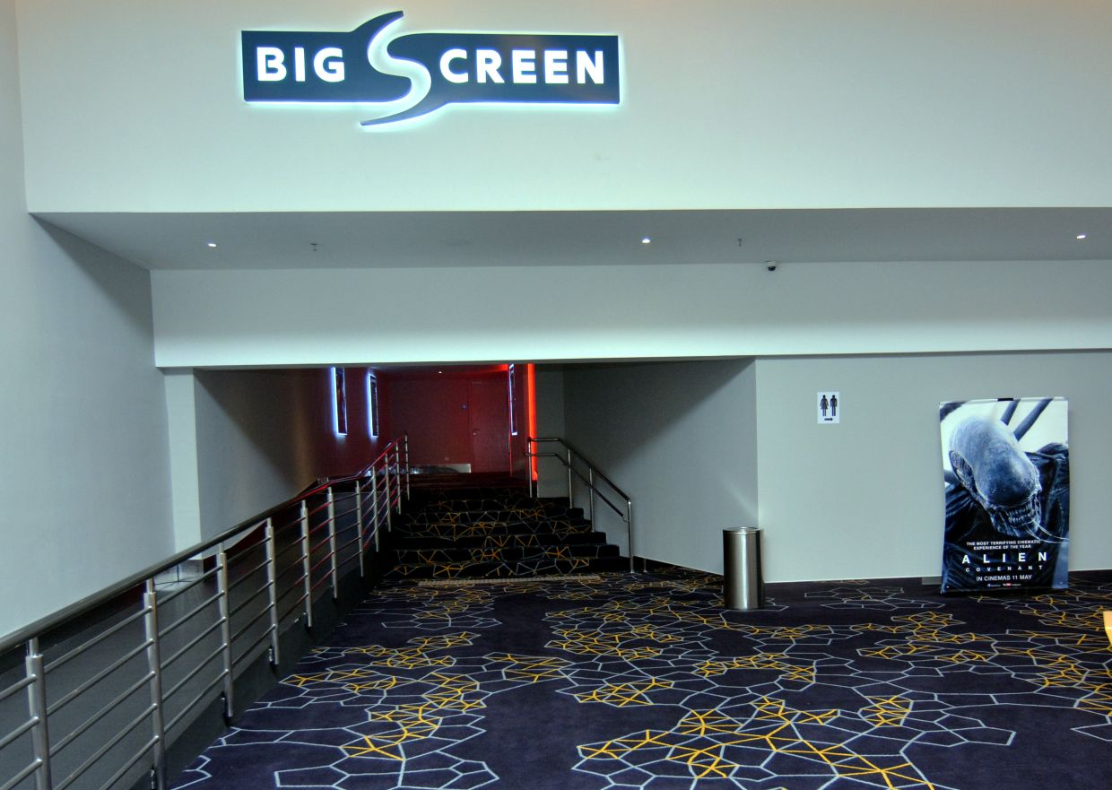MBO Starling Mall Cinema boasts of Big Screen feature. Photo: Handout