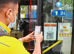 App's new feature encourages cashless transactions