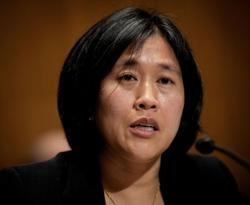 Biden's trade rep pick says she will fight Chinese trade barriers