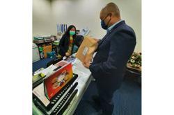 Quit letter pre-signed by Sebatik rep delivered to Sabah assembly office
