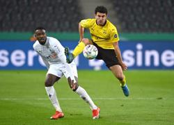 Sancho goal sends Dortmund into German Cup last four