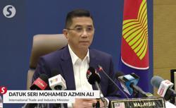 Asean economic ministers propose common digital vaccine certificate, says Azmin Ali