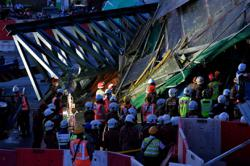 All five victims trapped after SUKE bridge collapsed extracted, sent to hospital