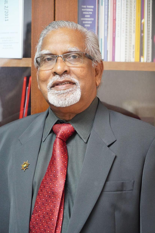 Malaysian Medical Association (MMA) president Prof Datuk Dr Subramaniam Muniandy.