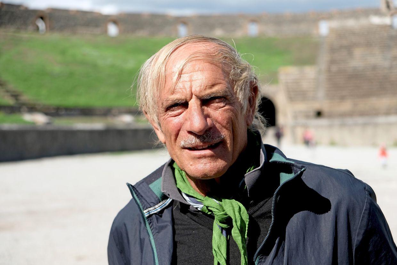 Buondonno is a tour guide in Pompeii. — FLORIAN SANKTJOHANSER/dpa