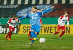 Second-tier Kiel ease past Essen to reach German Cup semis