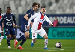 Sarabia strikes as PSG keep up with Lille