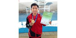 Teen diver Enrique's world platform on hold after exclusion from World Cup