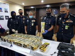 Cops nab six suspects, seize RM1mil worth of drugs in raids