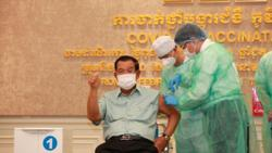 Cambodian PM Hun Sen gets AstraZeneca jab; cluster cases now 402