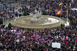 Spain bans Madrid Women's Day marches after accusations 2020 event spread coronavirus