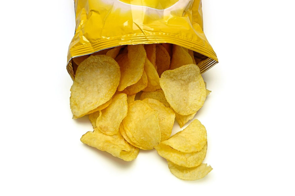 A British teenager went blind after living solely on potato chips, french fries, white bread and processed meat like ham and sausages for seven years. — AFP