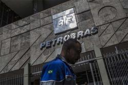 Another Petrobras director to quit as shares slide