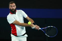 Paire spits on court, tanks and crashes out of Argentina Open