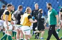 Coach Farrell committed to Ireland job amid Lions link