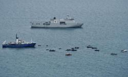 Indonesia sinks 10 illegal foreign fishing vessels