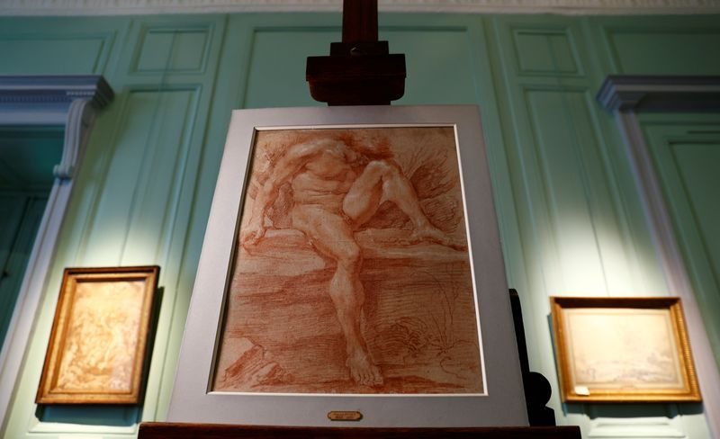 Rare Bernini drawing to go on sale in France