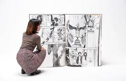 Fit for a Titan: A 13.7kg manga volume is set to break world record