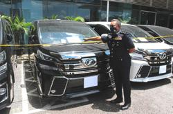 Vehicles worth RM3.5mil seized from cloning syndicate