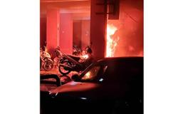 Seven motorcycles destroyed, six damaged in early morning fire