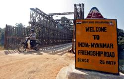 Myanmar asks India to return 8 police who fled across border
