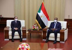 Egypt's Sisi ups pressure for Ethiopia dam deal on Sudan visit