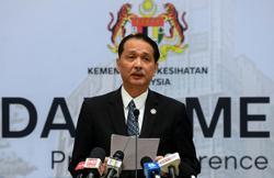 DG: New clusters in Selangor, Johor, Melaka and Sarawak