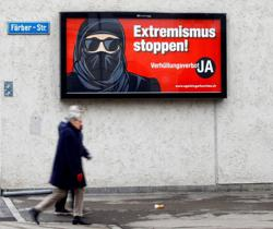 Swiss look set to approve ban on facial coverings