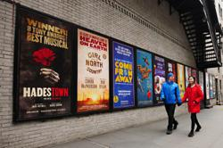 Dark for a year, Broadway theaters to start limited reopening in April