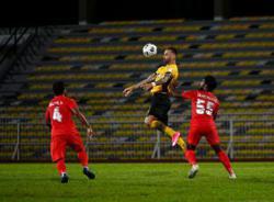 Super League: All-local PJ City holds Perak in Ipoh