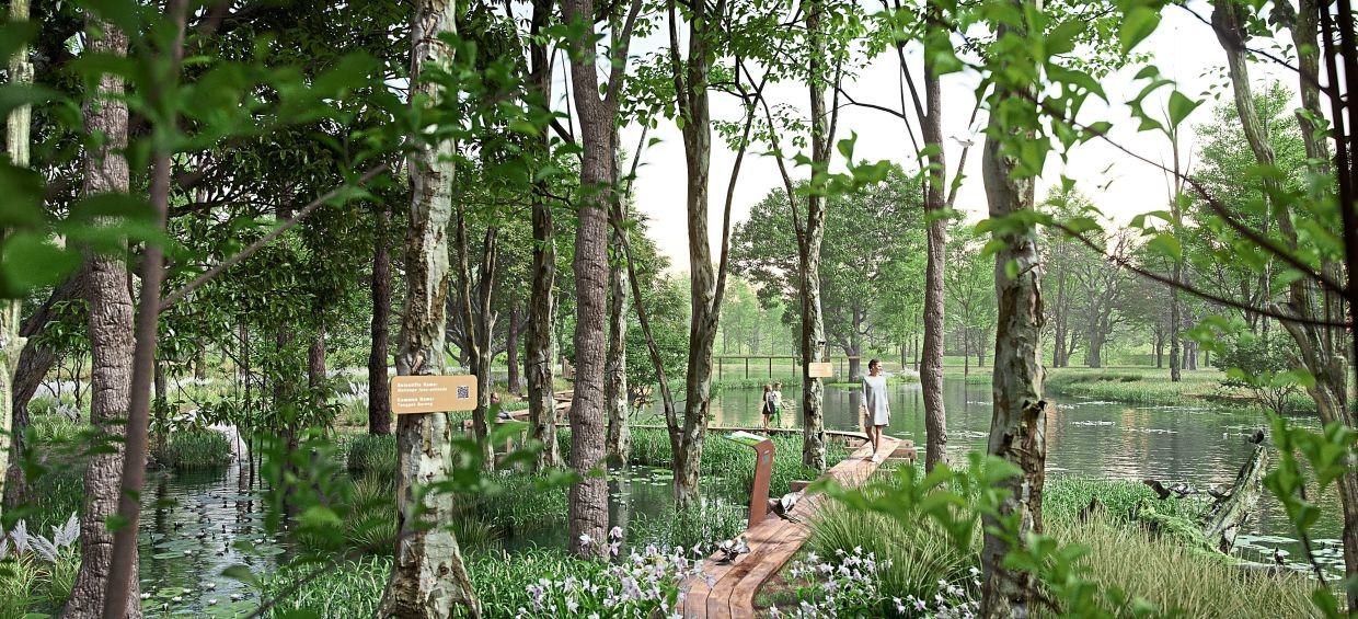 Connections to nature abound with the 40ha Forest Park situated next to  Gamuda Cove, as well as the Paya Indah Discovery Wetlands nearby.