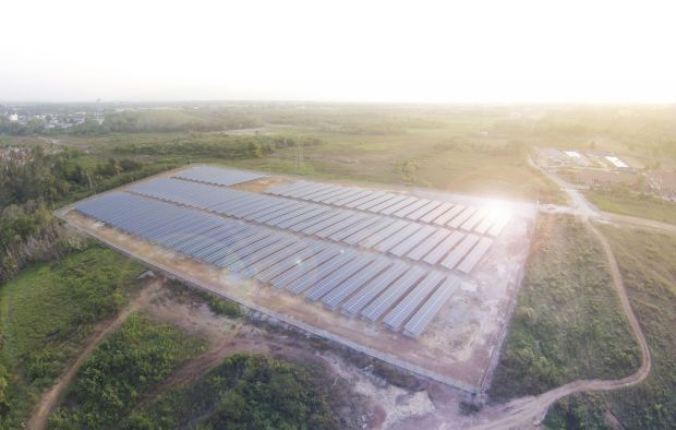 File pic shows a Plus Solar project,