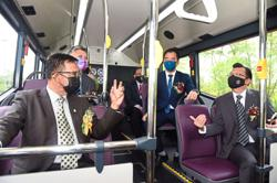 Free electric bus service expanded in Kuching