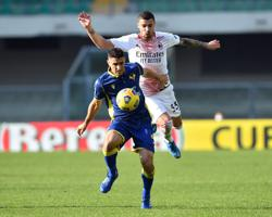 Milan close gap on Inter with comfortable win at Verona