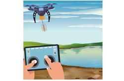 Aerial river surveillance