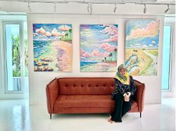 Malaysian painter launches artist-centred gallery space