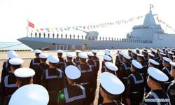 China's 2nd Type 055 large destroyer enters naval service