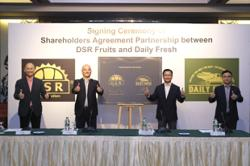 DSR Group inks partnership with daily fresh to retail musang king products