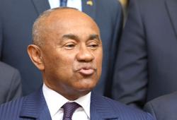 CAF president's ban reduced but re-election hopes over