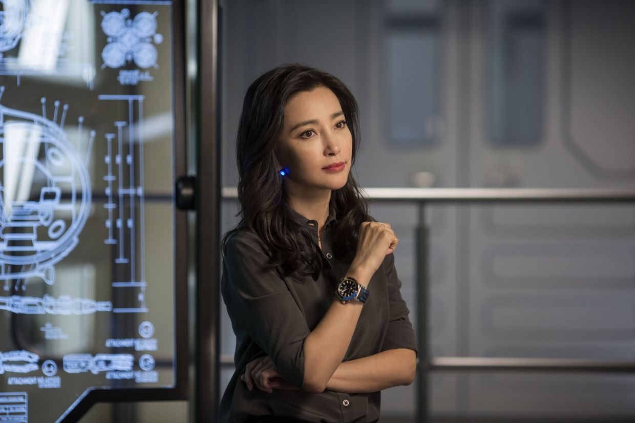 Li Bingbing has starred in a number of Hollywood movies including 'The Meg'.