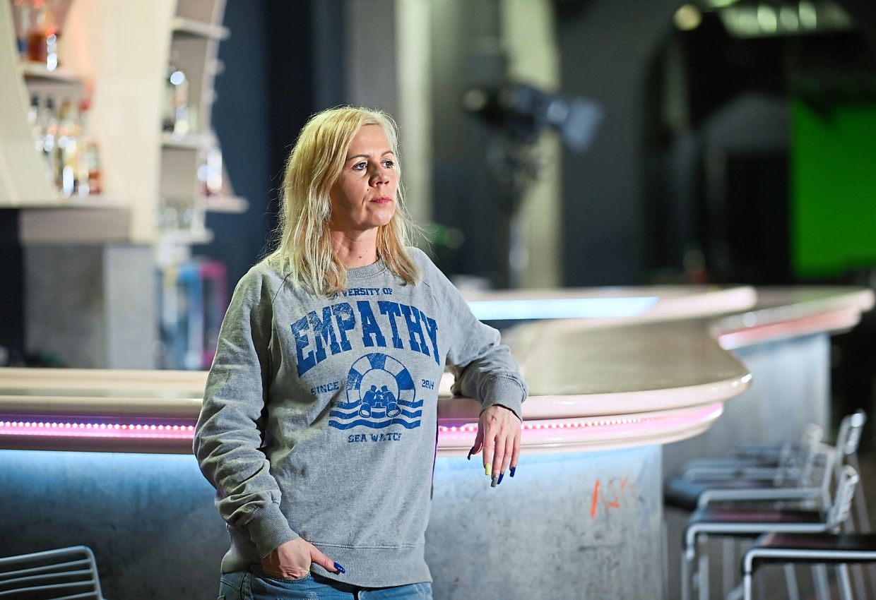 Pamela Schobess, whose Berlin nightclub Gretchen has been closed for months due to the pandemic, says that she doesn't know how things will go when clubs are allowed to reopen. — dpa