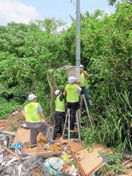 Council using solar CCTVs to nab those dumping rubbish illegally